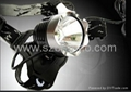 10W Bicycle headlight 10000Lx high power 1200Lumens .500M Long distance