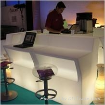 Lighting bar counter