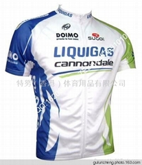 2011 Team LIQUIGAS Cycling Jersey + Shorts Kit