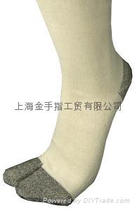 全棉針織襪子軍足 3