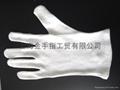 cotton interlock gloves,cotton canvas and jersey glove  1