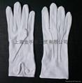 cotton interlock gloves,cotton canvas and jersey glove  2