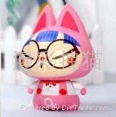 供應拽貓正品 創意禮品 玩具娃娃公仔 動漫手辦 超萌眼鏡女生
