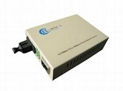 fiber optic to rj45 media converter