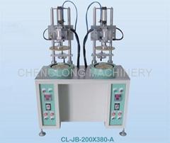 PVC/PET cylinder curling side machine