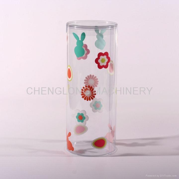 透明塑料圓筒卷邊機 4