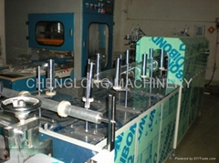 Microcomputer Cylinder Fully Automatic Gluing Side Machine
