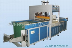 High Frequency Fully Automatic Flattening and Folding Machine