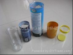 PVC透明圓筒膠盒 3