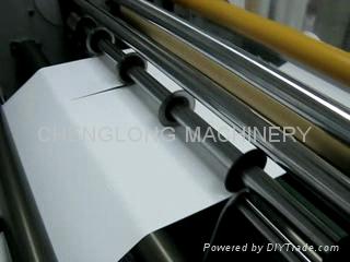 塑料片材分条复卷机 3