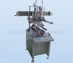 Plastic Cylindrical Box Gluing Side Machine