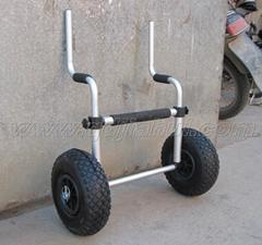 sit on top kayak trolley