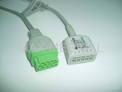 ECG CABLE AND LEADWIRES