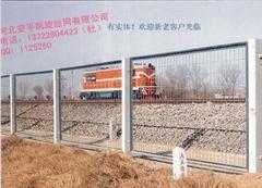雙邊絲護欄網,護欄網,公路護欄網,鐵路護欄網,監獄防護網,防