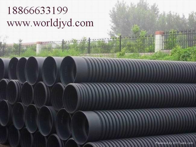 HDPE雙壁波紋排水管 1