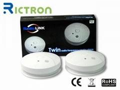 EN14604 & CE Radio frequency Wireless smoke detector