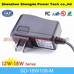 mini ac to dc adapter( us type)