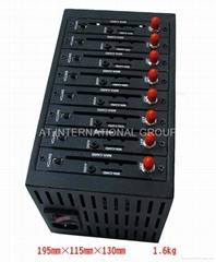 usb 8 ports GSM GPRS industrial modem pool