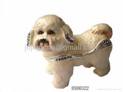 Dog jewelry box