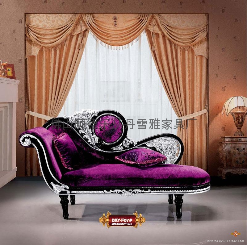 european sofa chaise lounge sofa F07 Danxueya China