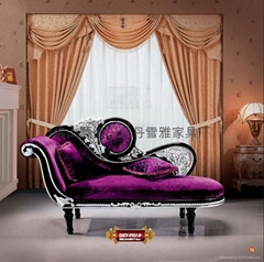 欧式古典贵妃椅