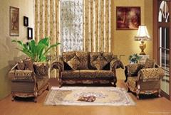 优质欧式古典布艺沙发