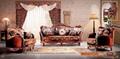 European  classic solid wood sofa