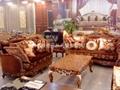 歐式古典布藝沙發 3