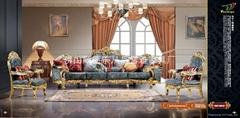 欧式新古典布艺沙发
