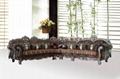 歐式古典轉角沙發