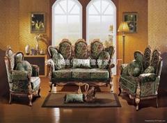 宫廷式布艺沙发