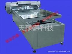 水晶平面印刷机