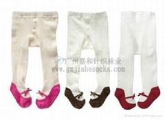 外貿原單超彈力時尚純棉儿童襪褲