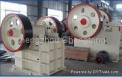Jaw crusher PE500*750