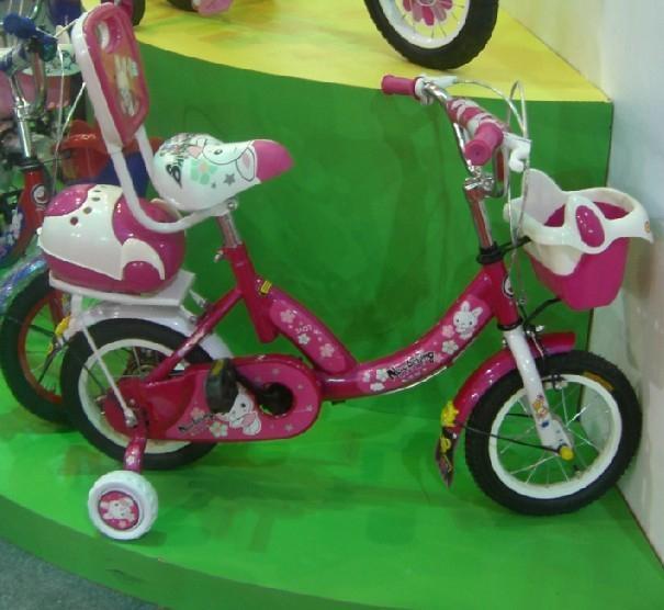 可爱的自行车