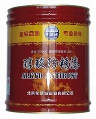 专业铁红醇酸防锈漆