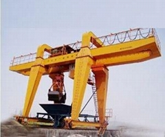 Double Girder Gantiry Crane With Hook Cap.5-10t
