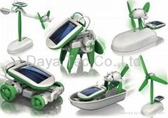 DIY 6 In 1 Solar Toy