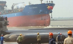 高承載力船用上下水橡膠氣囊