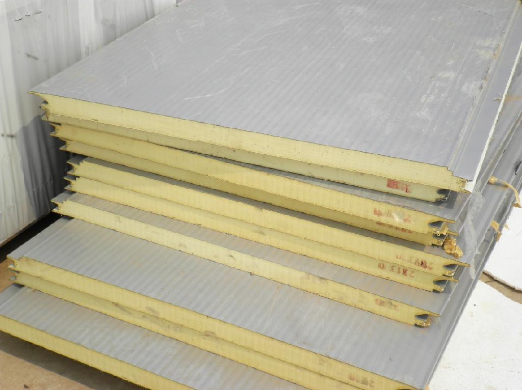 2 Insulation Panels : Heat insulation pu roof sandwich panel jialiang china