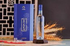 38度金酒珍品金門高梁酒(藍金龍)