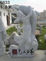 惠安園林景觀抽象雕刻石雕