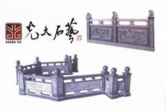 惠安石雕圍牆欄杆