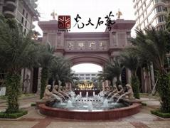 惠安石雕人物噴泉