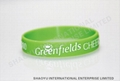 embossed silicone wristband WBE0001