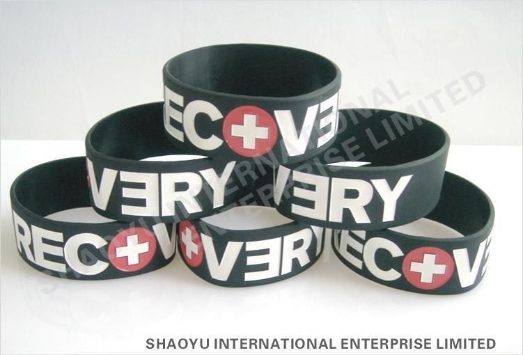 Custom  Silicone wristbandWBC0002 1