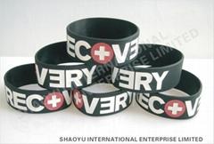 Custom  Silicone wristbandWBC0002