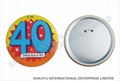 Tinplate button badge TB0005