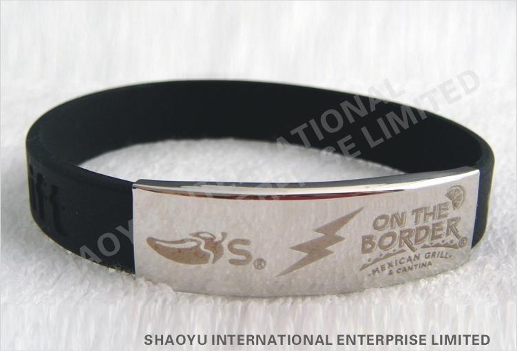 Custom  Silicone wristbandWBC0002 5