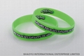 Printed silicone wristband WBP0002 3